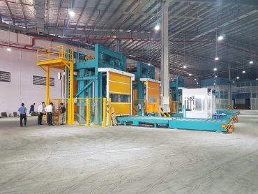 Lắp đặt hệ thống nâng hàng Hoist cho NCTS Noi Bai.
